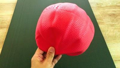 ピラティスで使ったボール