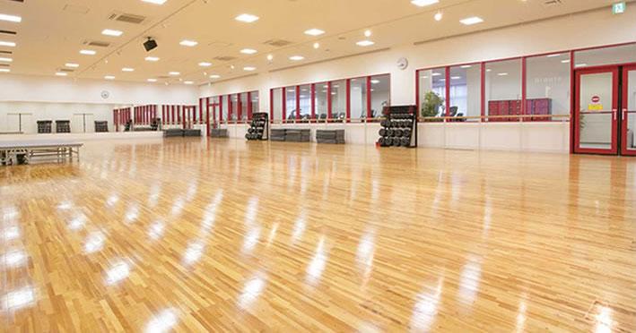 コナミスポーツクラブ武蔵浦和店 第1スタジオ