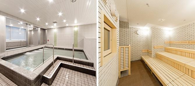 ジェクサー・フィットネス&スパ新宿 風呂