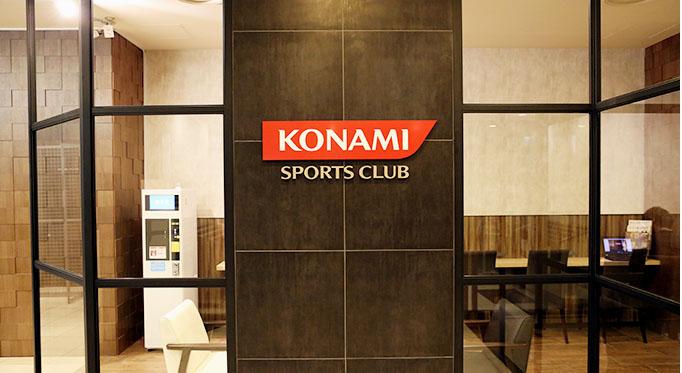 コナミスポーツクラブ恵比寿店 エントランス