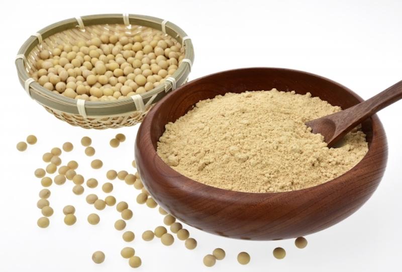 きな粉と大豆