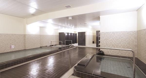 コナミスポーツクラブ武蔵小杉店お風呂