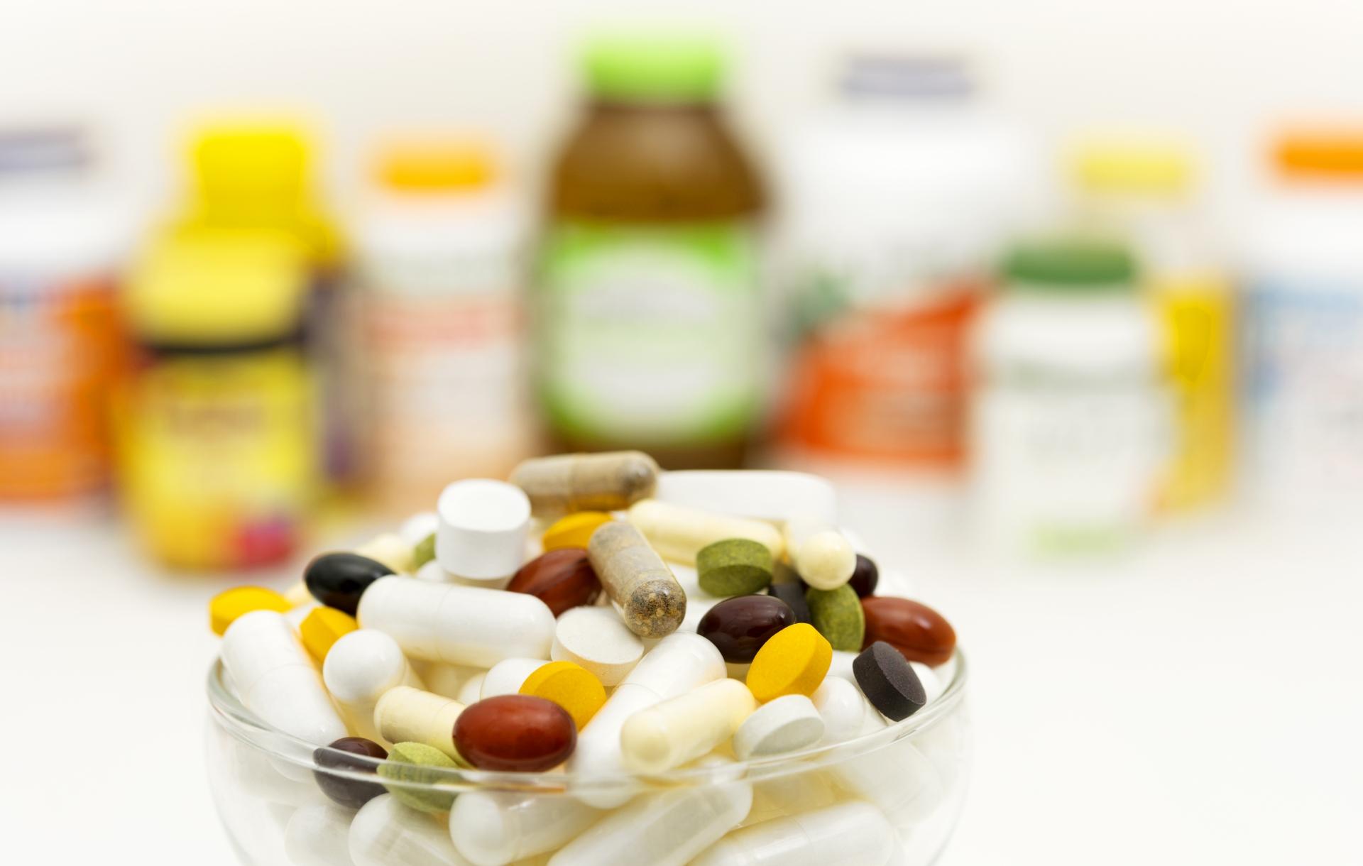 色々な種類の薬