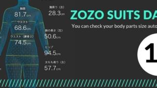 【ZOZOスーツ】ダイエット用にボディサイズ記録!10回目