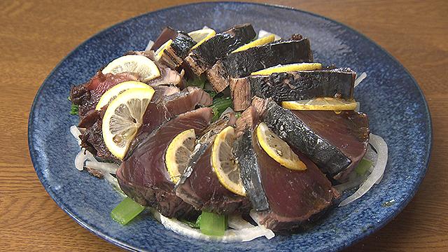 鉄分を摂取するレシピ~カツオと小松菜のサラダ