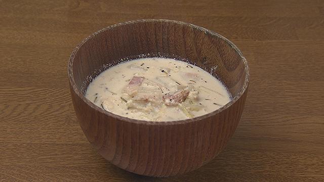 カルシウムとマグネシウムを摂取するレシピ~白菜と豆乳のスープ