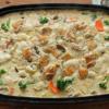 【NHKあさイチ】かめ代さんのホットプレートで作る鶏肉と里芋のクリーム煮レシピ(12
